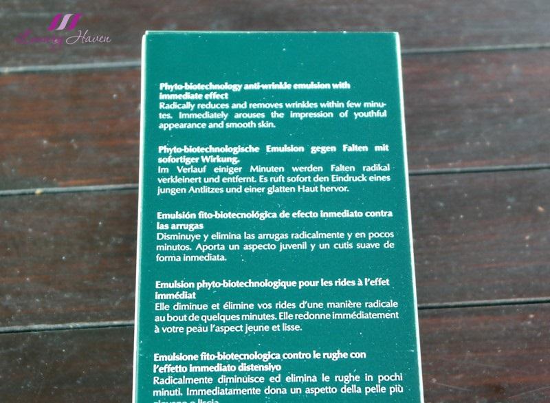 instant wrinkle eraser skin tightener biotechnology emulsion review