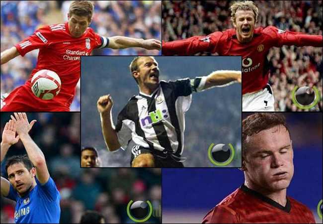 10 Pemain Sepakbola Terbaik Negara Inggris  2 Dekade Terakhir