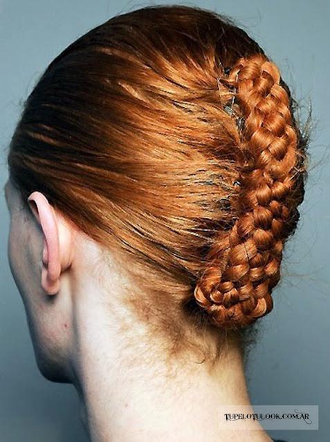 peinados trenzados 2015