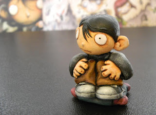 orme magiche bambino dei moschini modellini statuette sculture action figure personalizzate fatta a mano artibal