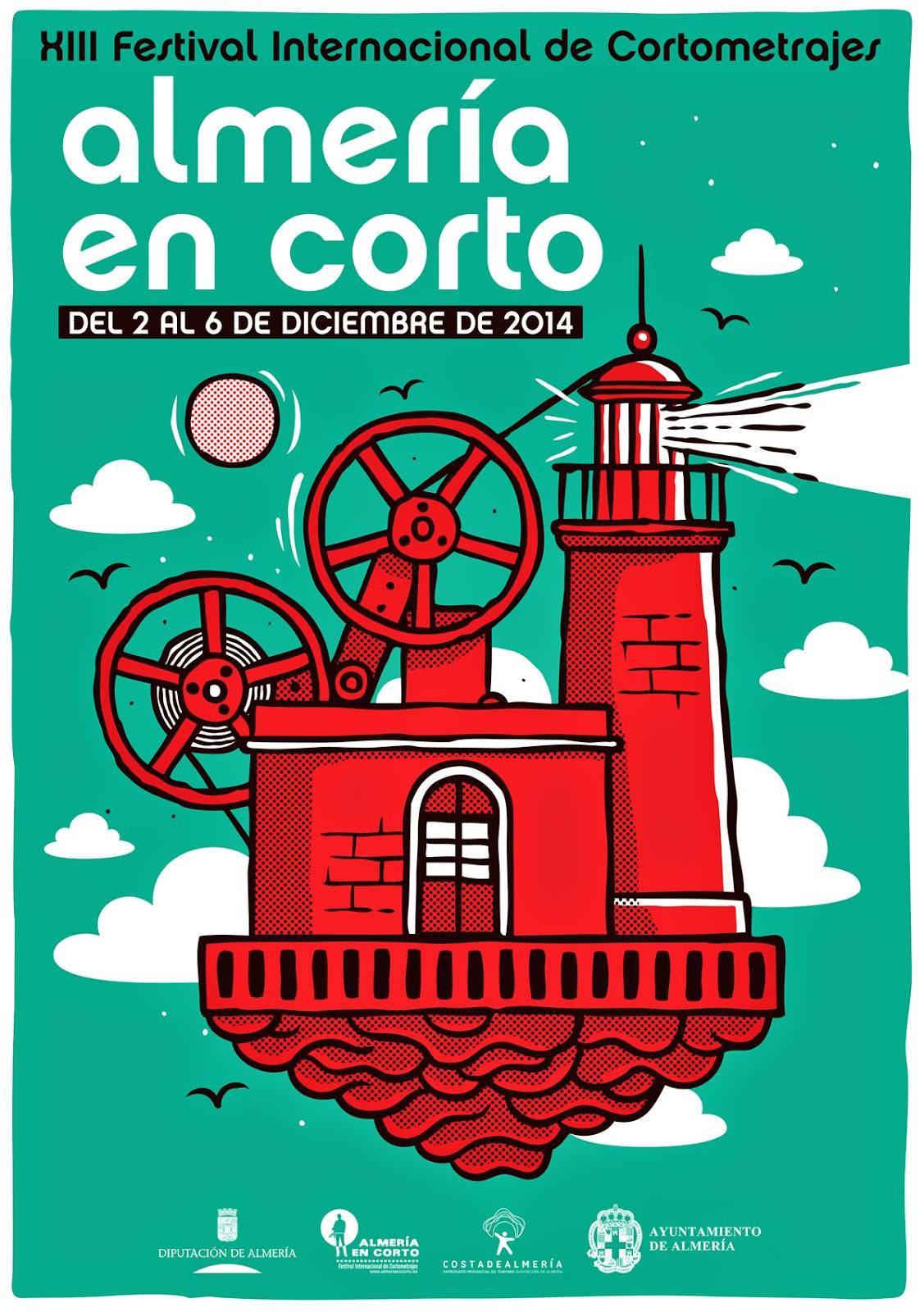 cartel festival Almería en corto 2014