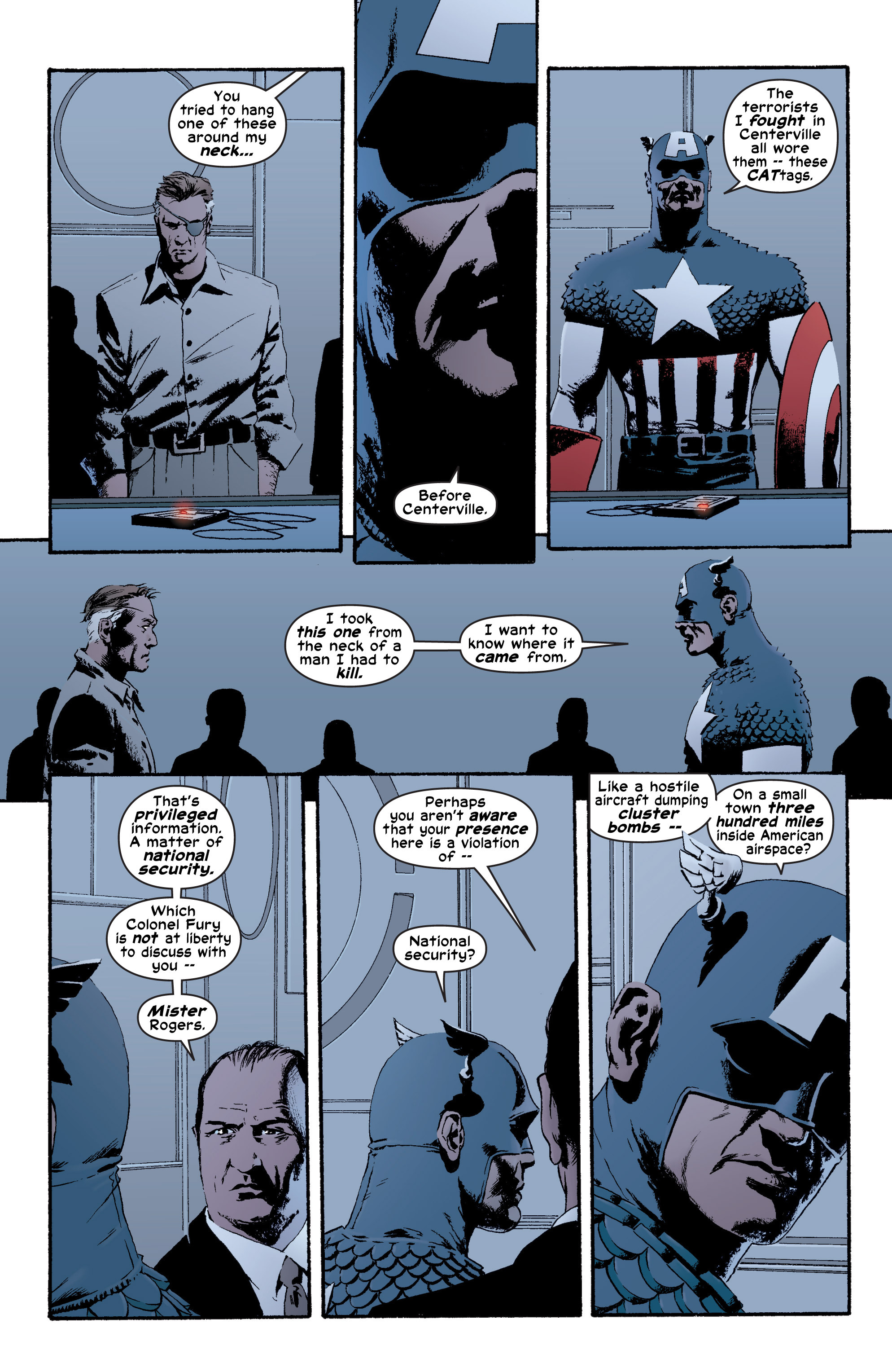 Captain America (2002) Issue #4 #5 - English 11