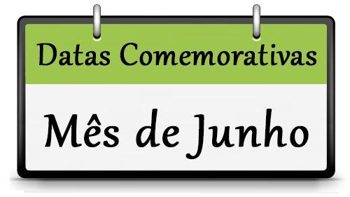 Frases e Datas do Mês de Junho