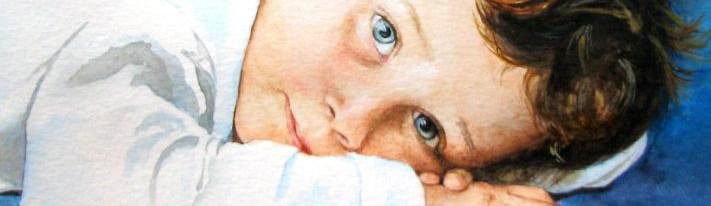 Breno - watercolour size 25x30cm