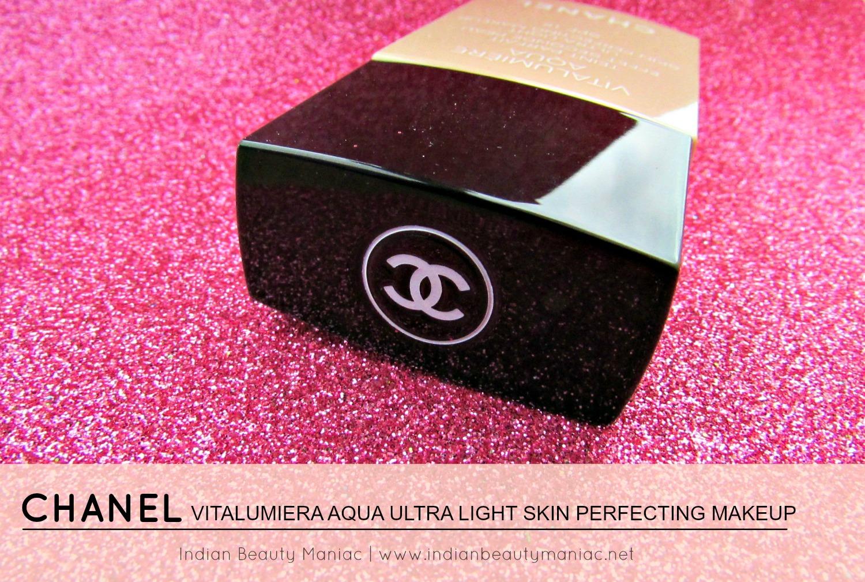 Indian Beauty Maniac Chanel Vitalumiere Aqua Ultra Light Skin Vitalumire Perfecting Makeup Spf 15 Review