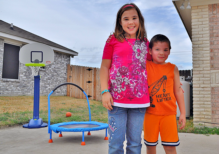 Beat #MarchMadness with a Little Tikes Adjust 'N Jam Basketball Hoop and 3 Foot Trampoline from Toys R' Us! #sponsored