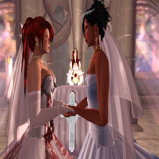 Marta and Mikki wedding in AYA Chapel
