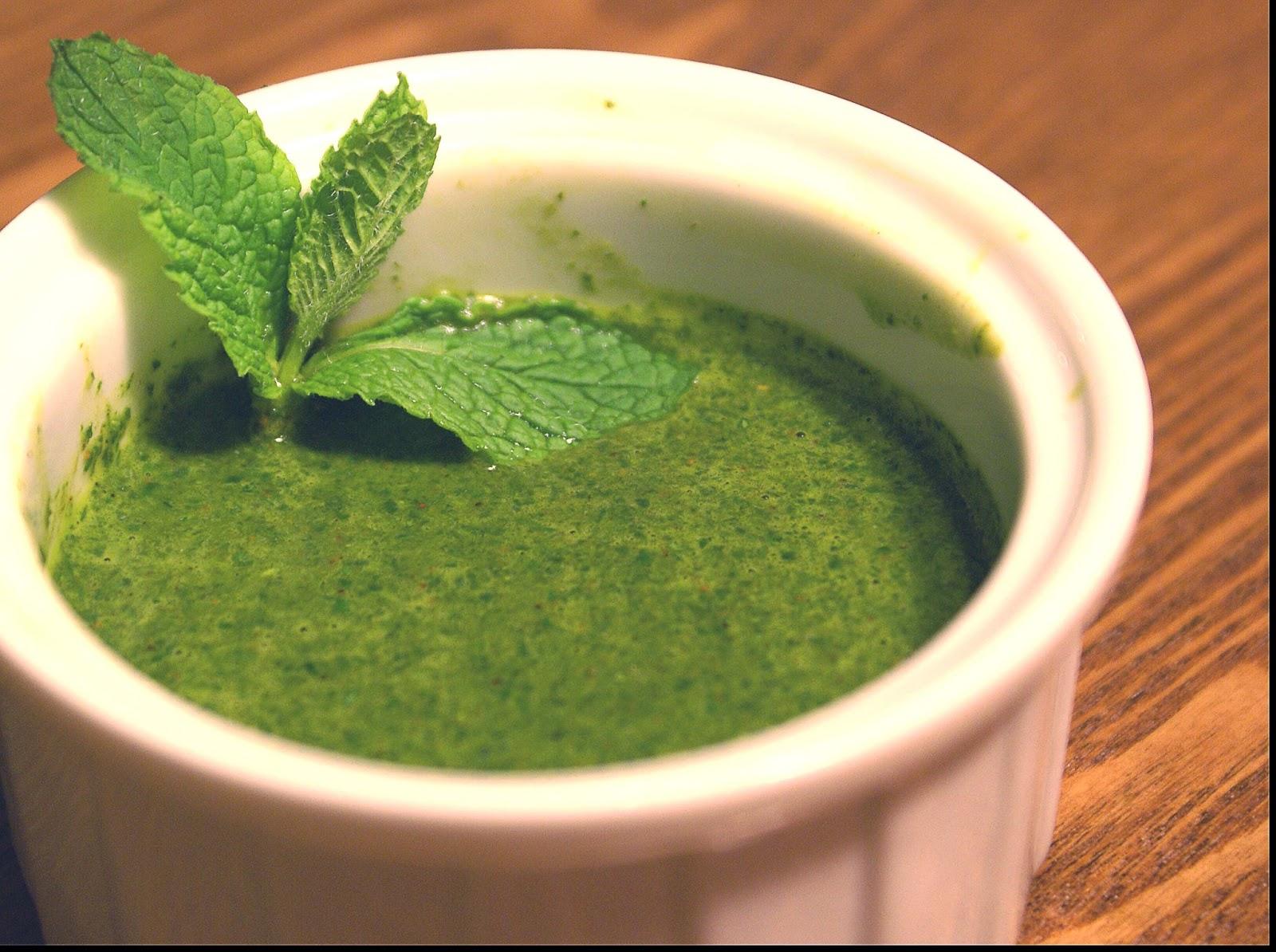 Mint Chutney Recipe — Dishmaps