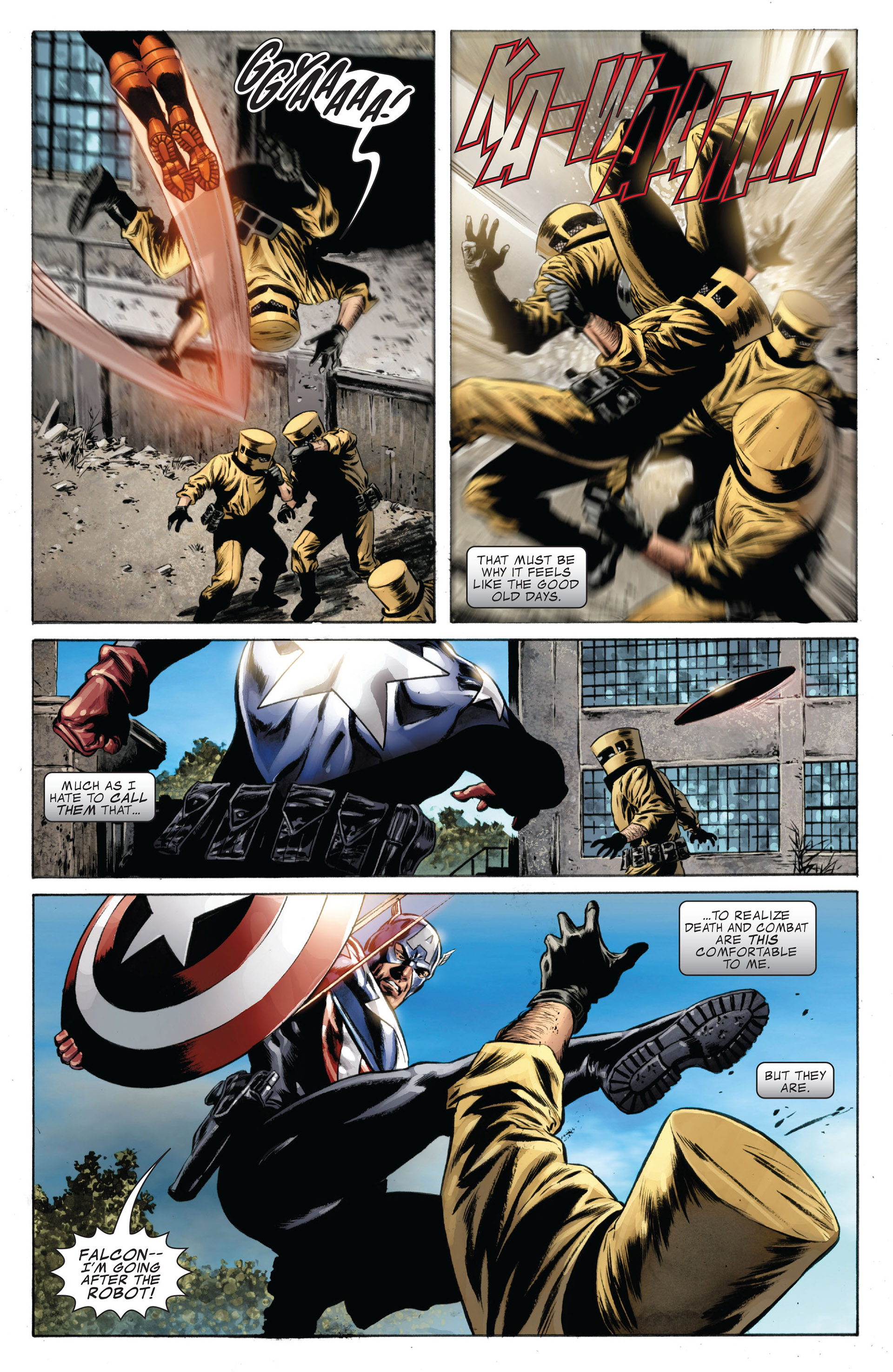 Captain America (2005) Issue #38 #38 - English 16