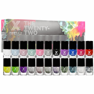 Sephora Formula X The Twenty-Two Piece mini holiday set