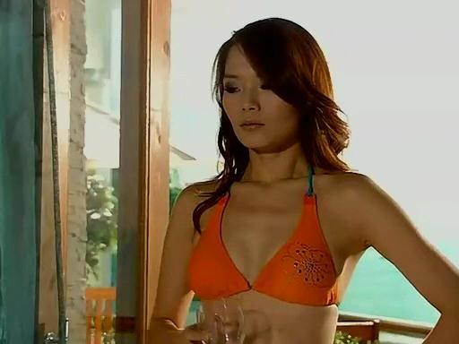 Bikini naranja Koni lui