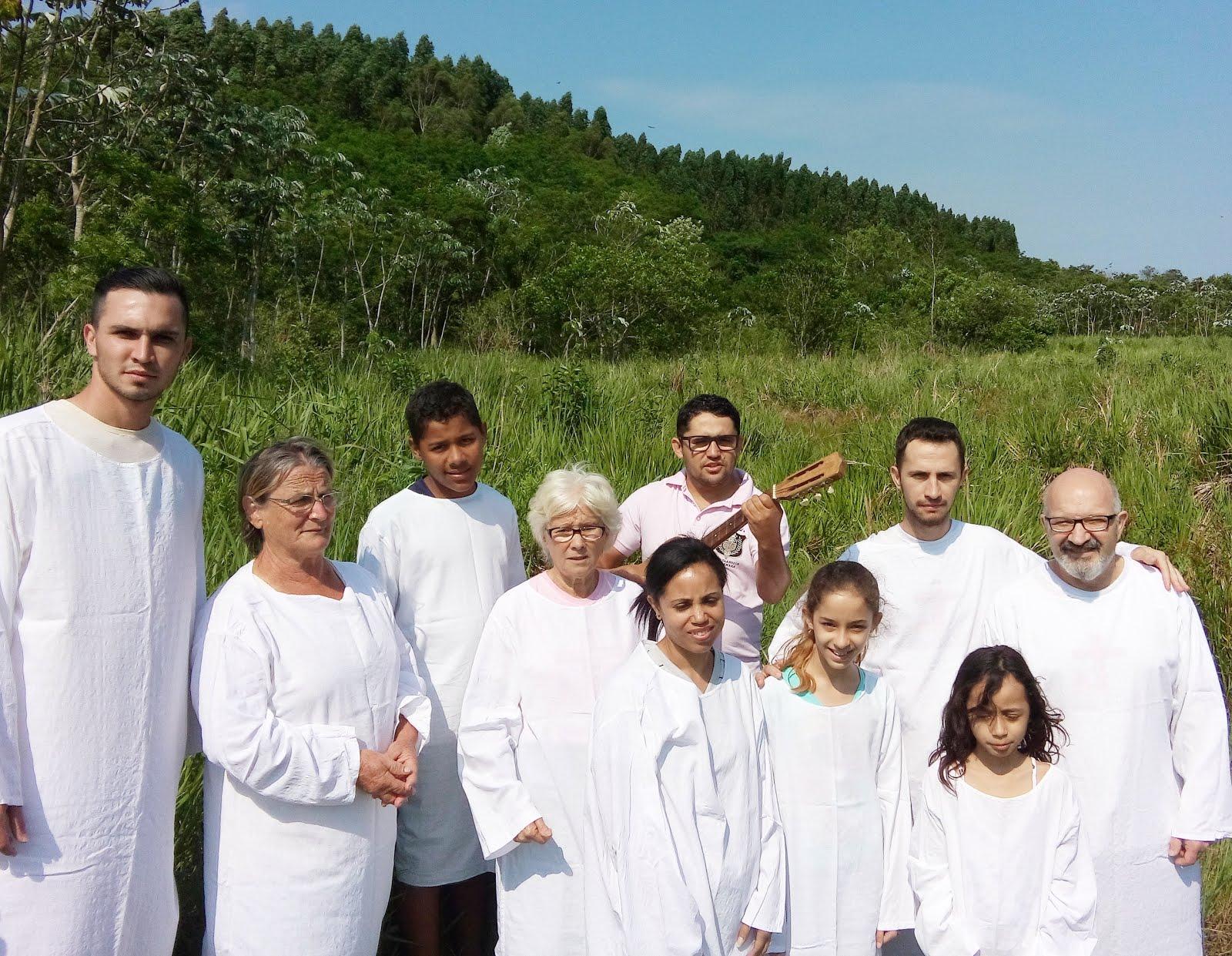 Batismo nas águas - 25/10/15