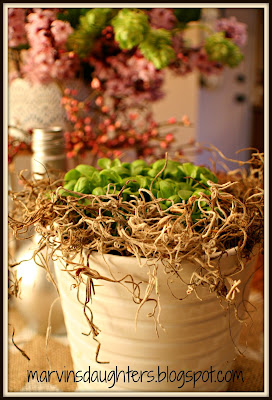 Springtime Table Centerpiece
