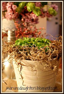 Springtime Table Centerpiece