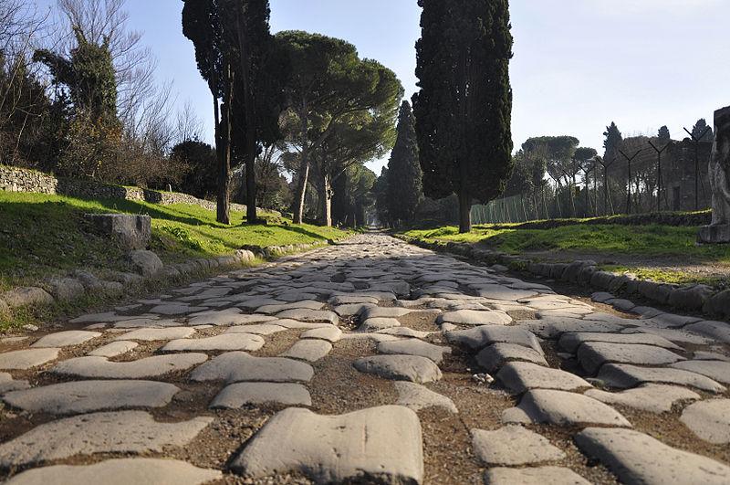 Аппиева дорога в Риме (Via Appia)