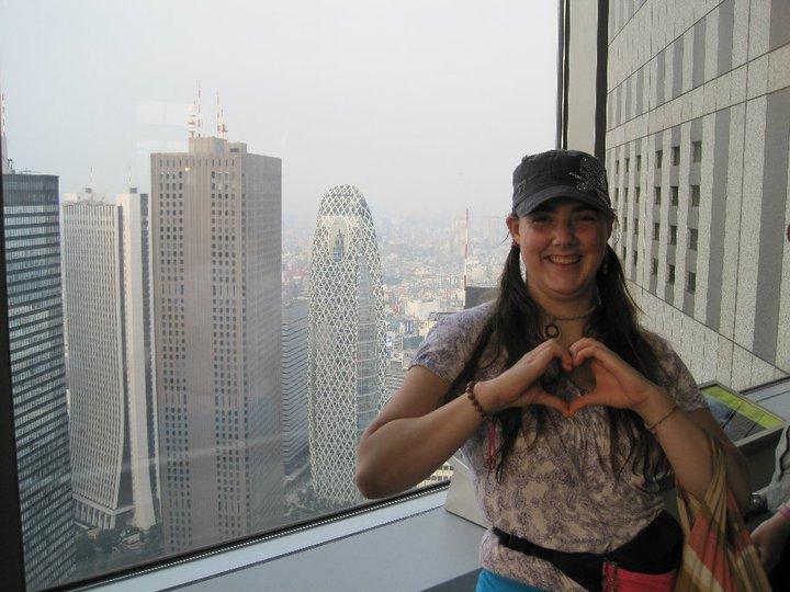 Lauren in Tokyo