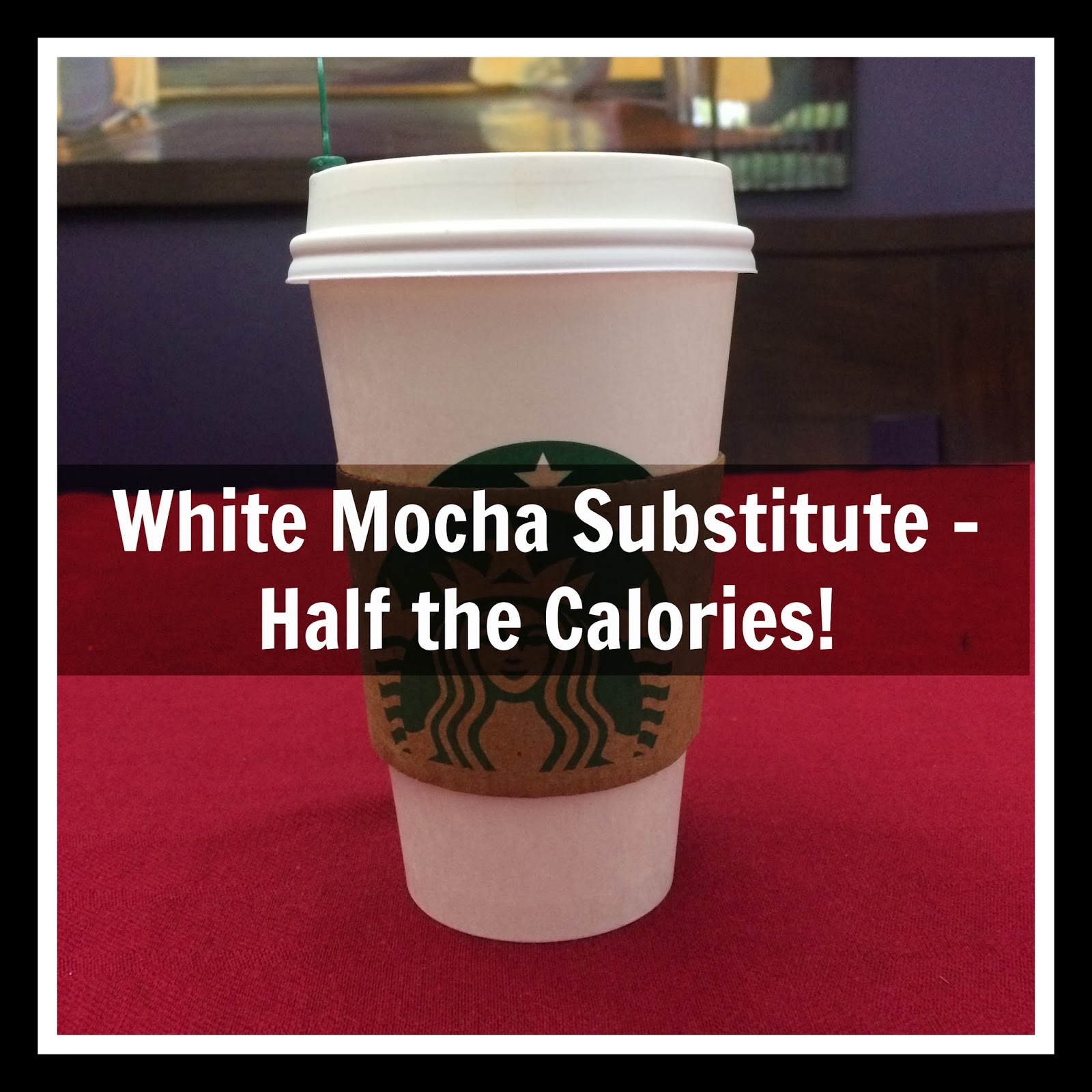 white mocha alternative option
