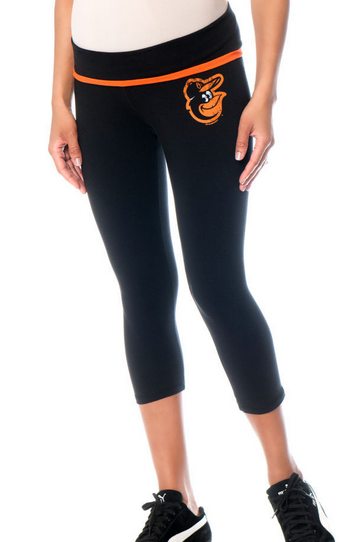Baltimore Orioles MLB Maternity Leggings