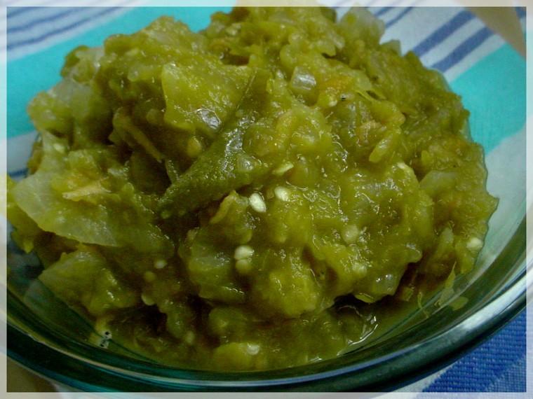 cara membuat sambal hijau padang