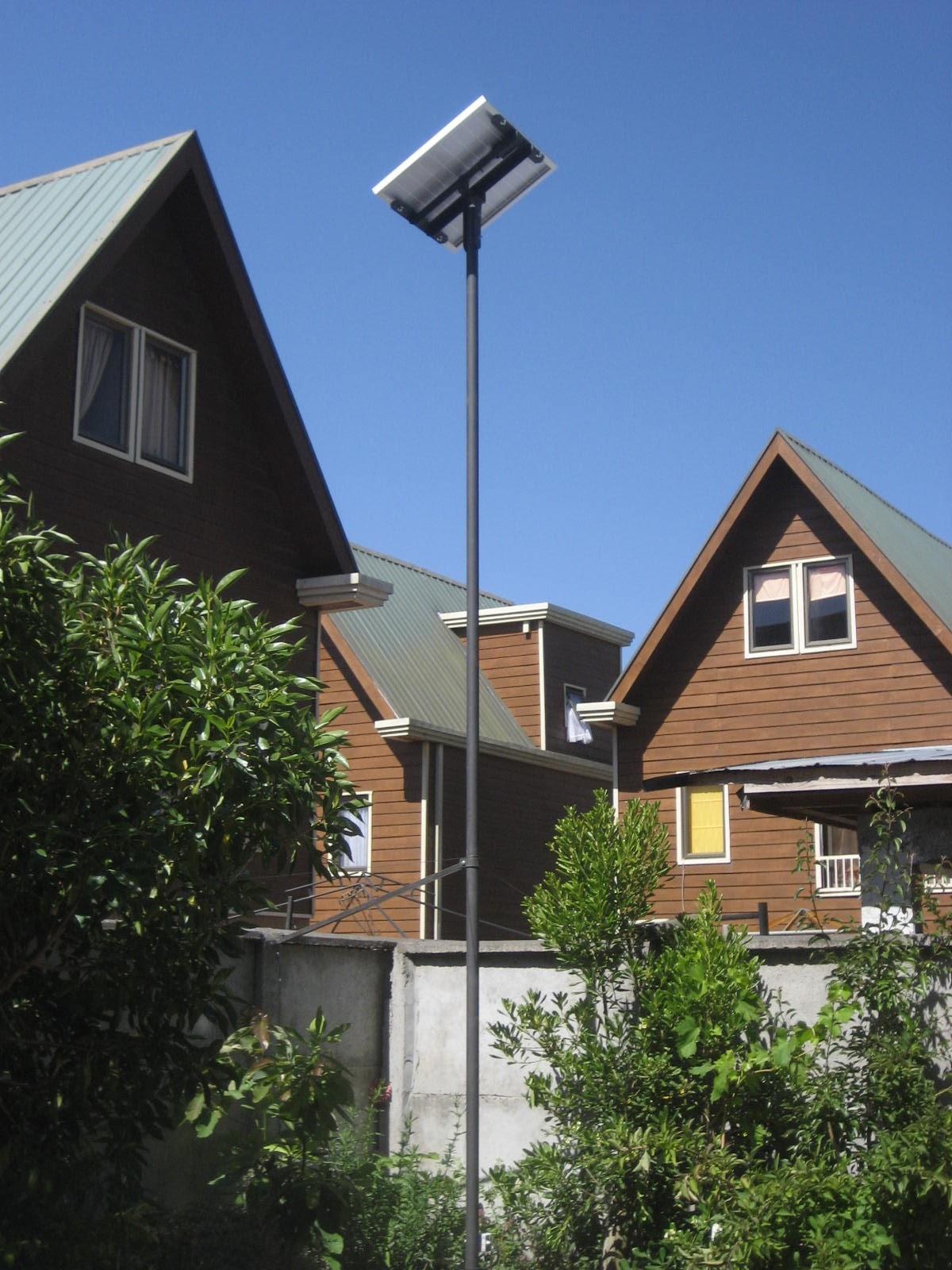 Conceptosolar proyecto fotovoltaico iluminaci n patio for Iluminacion solar jardin