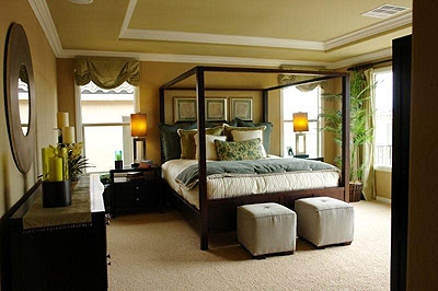 Romantic Master Bedroom Interior Design Ideas