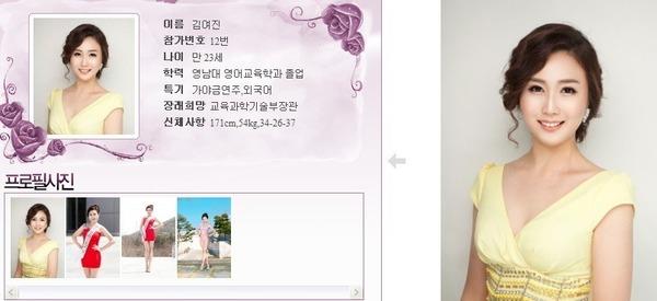 นางงามเกาหลี 2013 ศัลยกรรม หน้าเหมือนเป๊ะ - 05
