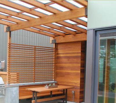 Fotos de techos techos transparentes de policarbonato for Techos modernos exterior