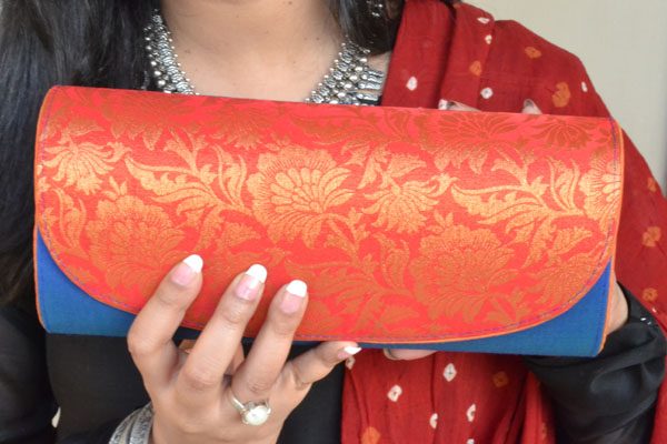 Silk Clutch bag india