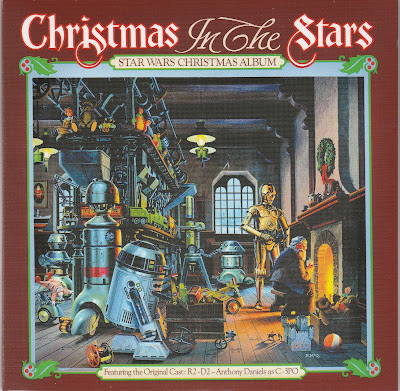 The Christmas in the Star album cover...drawn by legendary Star Wars artist Ralph McQuarrie!