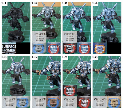 Step By Step Grey Knights Painting Guide