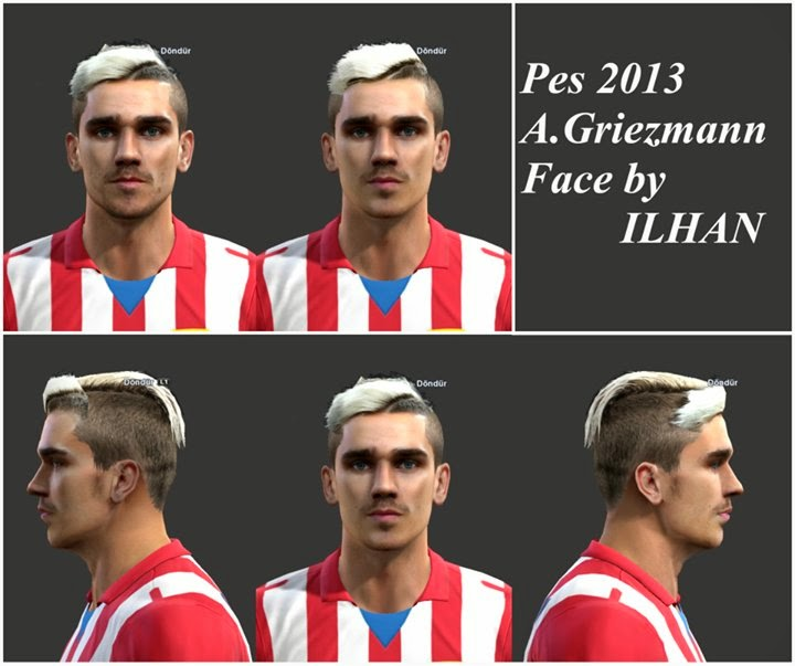 Pes Master Posts: Griezmann Face By Ilhan