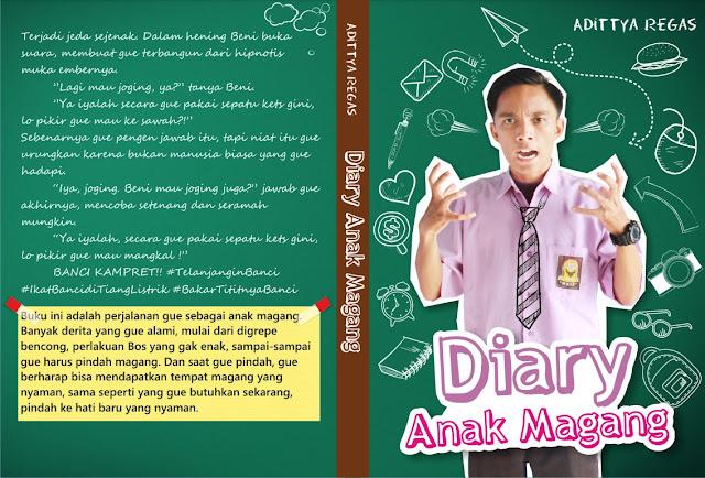Cover Buku Diary Anak Magang