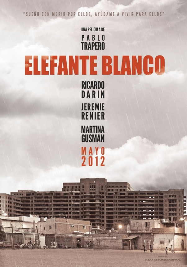 Elefante blanco poster