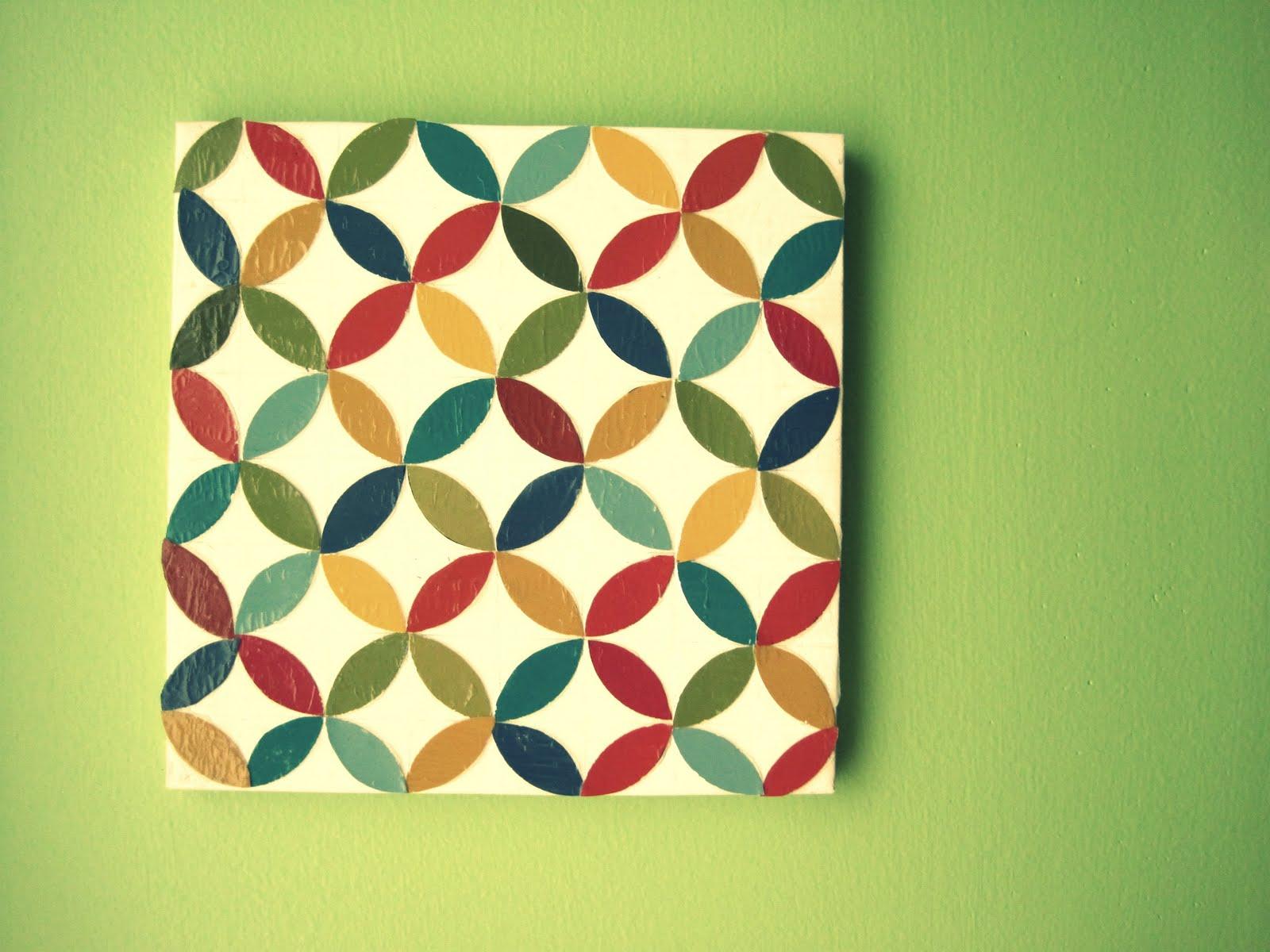Live. Love. Craft.: TUTORIAL~paint chip wall art