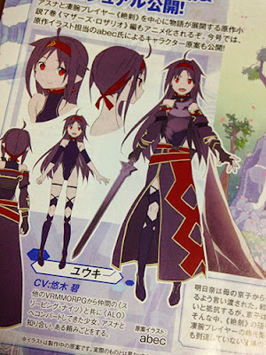 Mother Rosario Arc Yuuki From Sword Art Online 2
