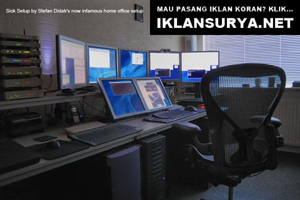 Ruang Kerja IT Kompleks Komputer