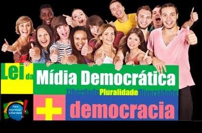 Assine o Projeto de Lei da Mídia Democrática