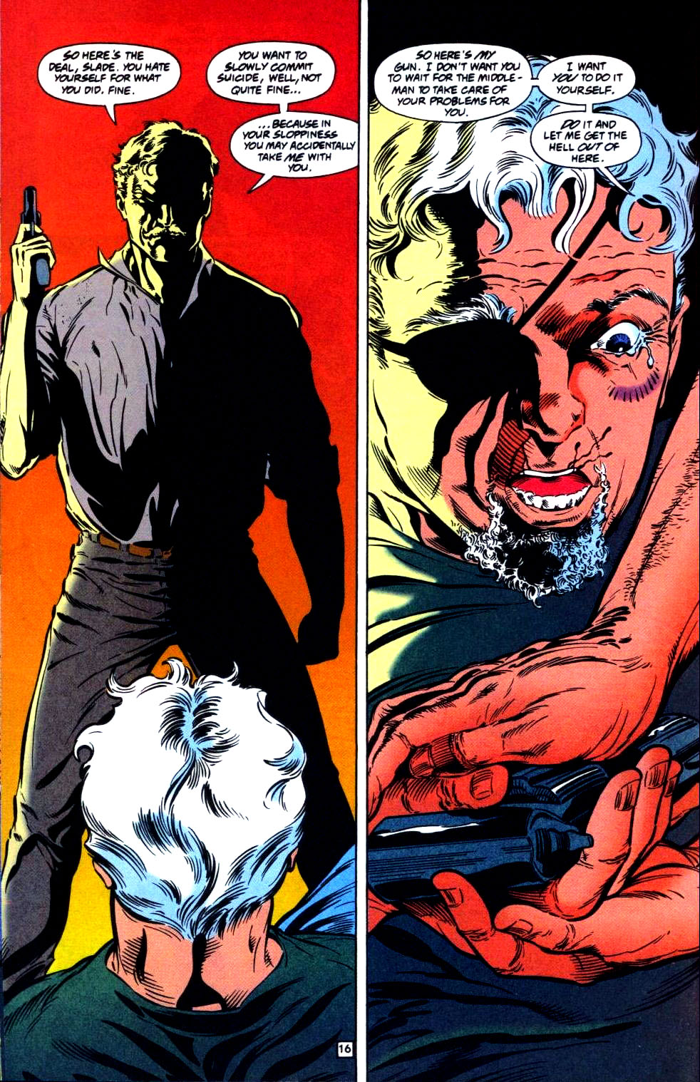 Deathstroke (1991) Issue #35 #40 - English 17