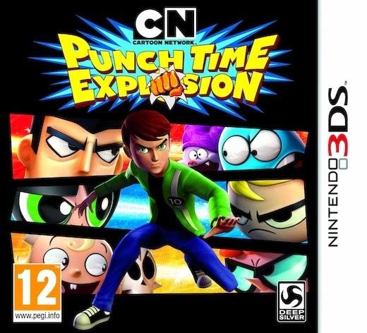Cartoon Network: Explosión de Puñetazos (Nintendo 3DS) (Español)