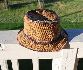 Men's Sunhat Crochet