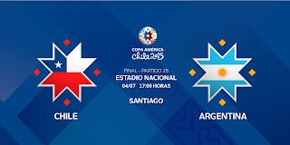 Ver Chile vs Argentina en vivo | 04 julio del 2015 | Final | Copa América Online