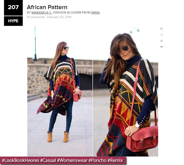 """African Pattern""  by Marianela Y. \ LookBook.nu"