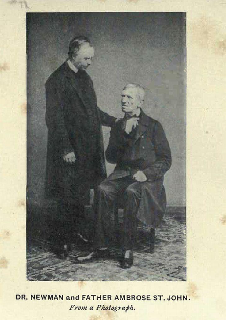 Santos Queer: Beato John Henry Newman y Ambrose St. John: Un santo ...