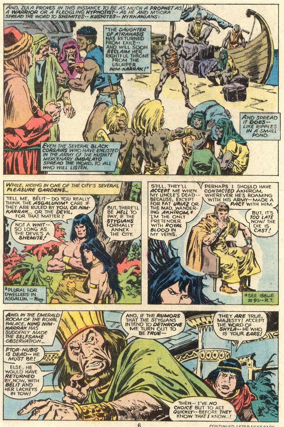 Conan the Barbarian (1970) Issue #93 #105 - English 6