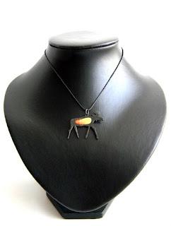 купить кулон лось бронзовые украшения латунные подвески ру
