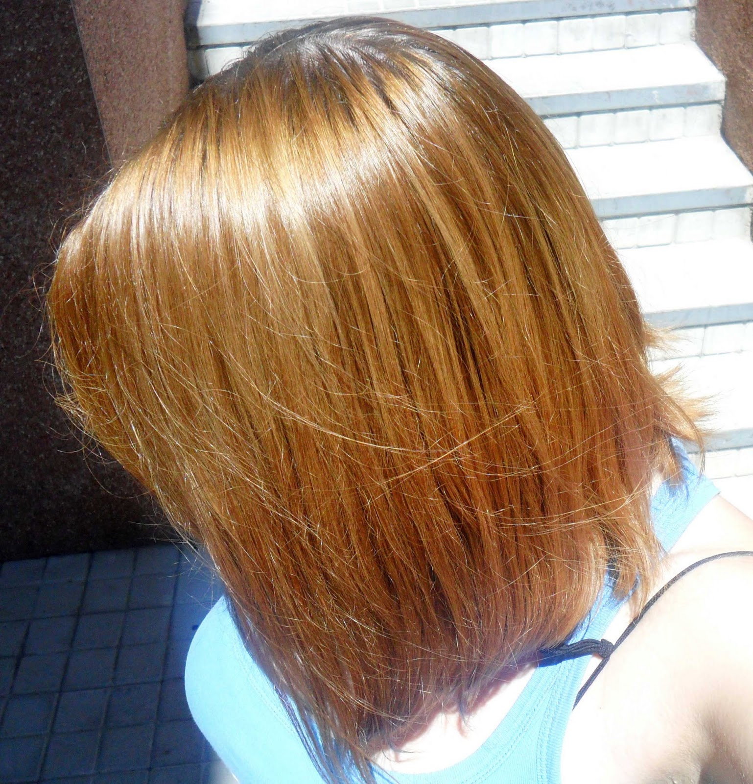 segunda aplicacion para matizar el cabello rubio