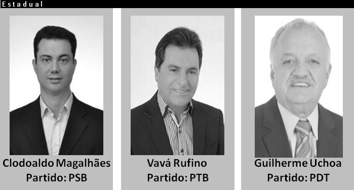 Deputados Estaduais com apoios de grupos políticos em Panelas-PE