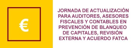 Actualizaciónen prevención de blanqueo de capitales, revisión externa y acuerdo FATCA