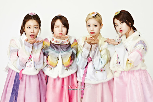 Girl's Day Hanbok 2013 Lunar