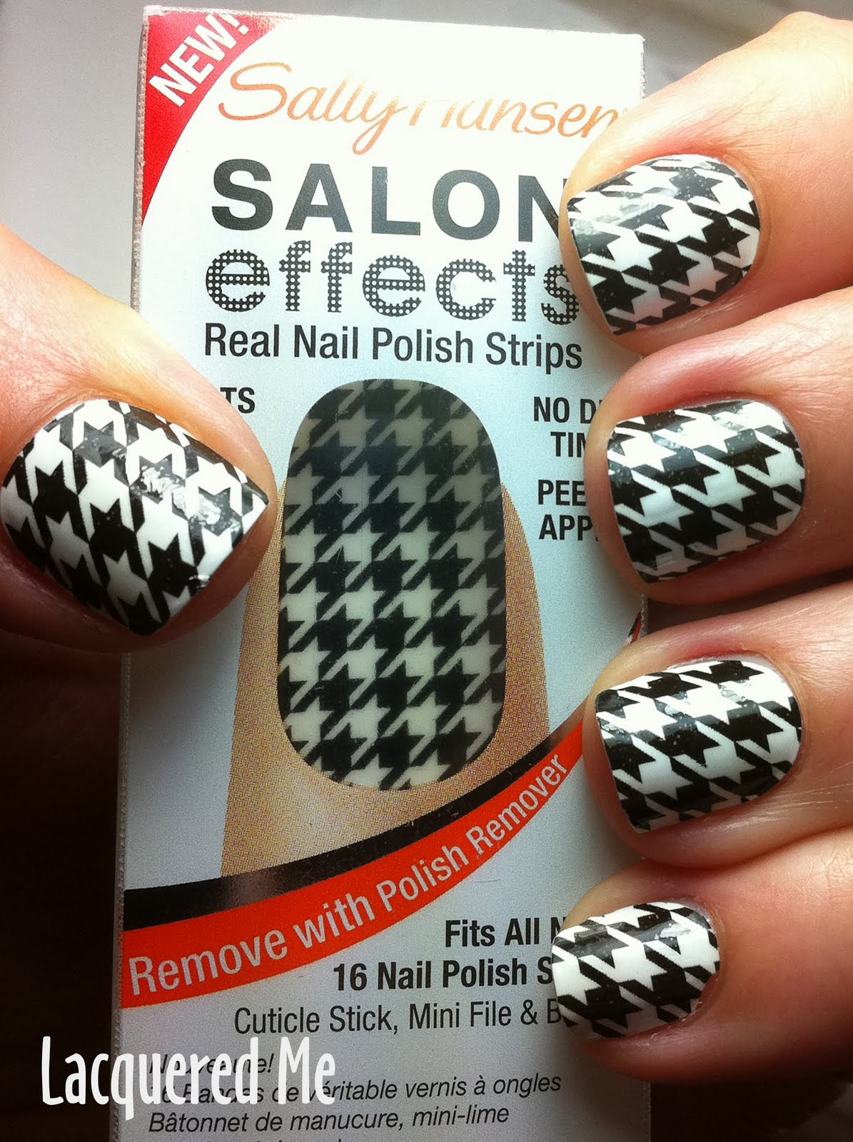Lacquered Me: SALLY HANSEN Salon Effects Real Nail Strips